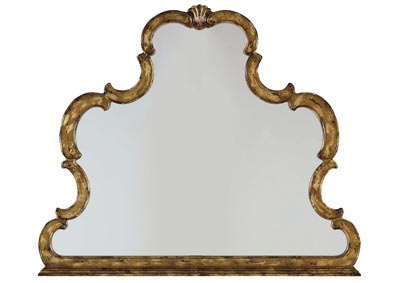Sanctuary Gold Leaf Mirror