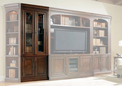 European Renaissance ll Glass Door Bookcase