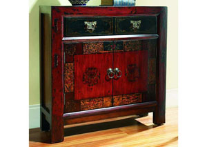 Hooker Asian Two-Door/One-Drawer Hall Chest
