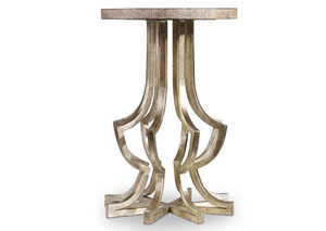 Hooker Metal Chairside Table