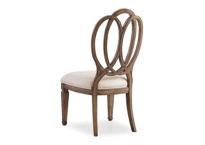 Solana Wood Back Side Chair (Set of 2)