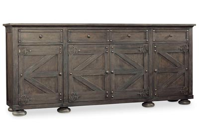 Image for Vintage West Fuscous Gray Storage Credenza