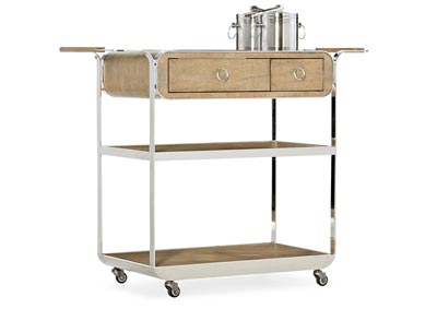 Image for Novella Gallery Poplar Beach Bar Cart