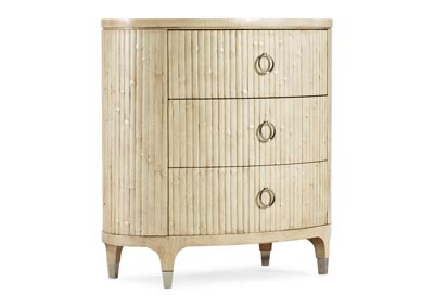 Image for Novella Tana Coastal Trail Oval Nightstand
