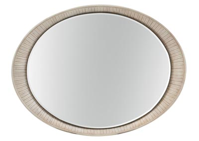 Image for Elixir Silver Oval Accent Mirror
