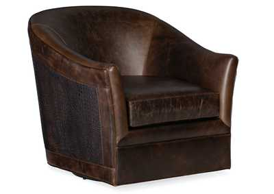 Image for Brown Morrison Swivel Club Chair
