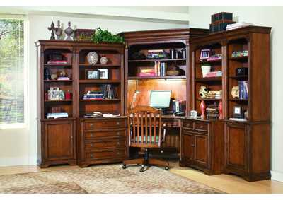 Brookhaven Left Bookcase (N)