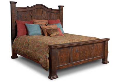 Image for Grand Rustic Queen Bed