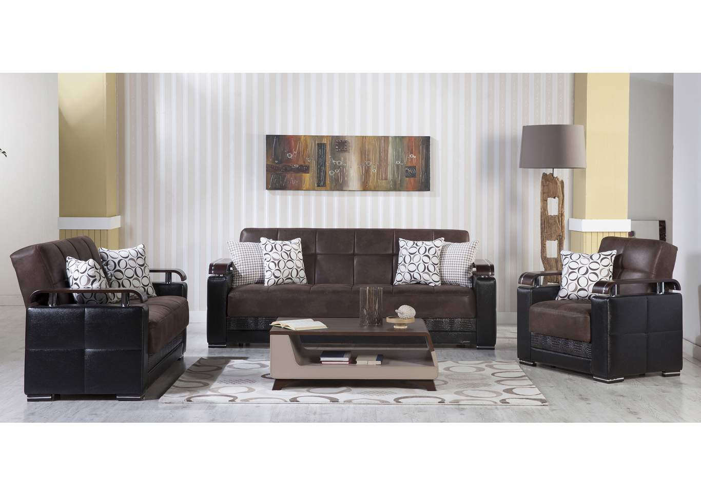 Magnificent Charisma Furniture Ekol Silverado Chocolate Sofa Loveseat Creativecarmelina Interior Chair Design Creativecarmelinacom