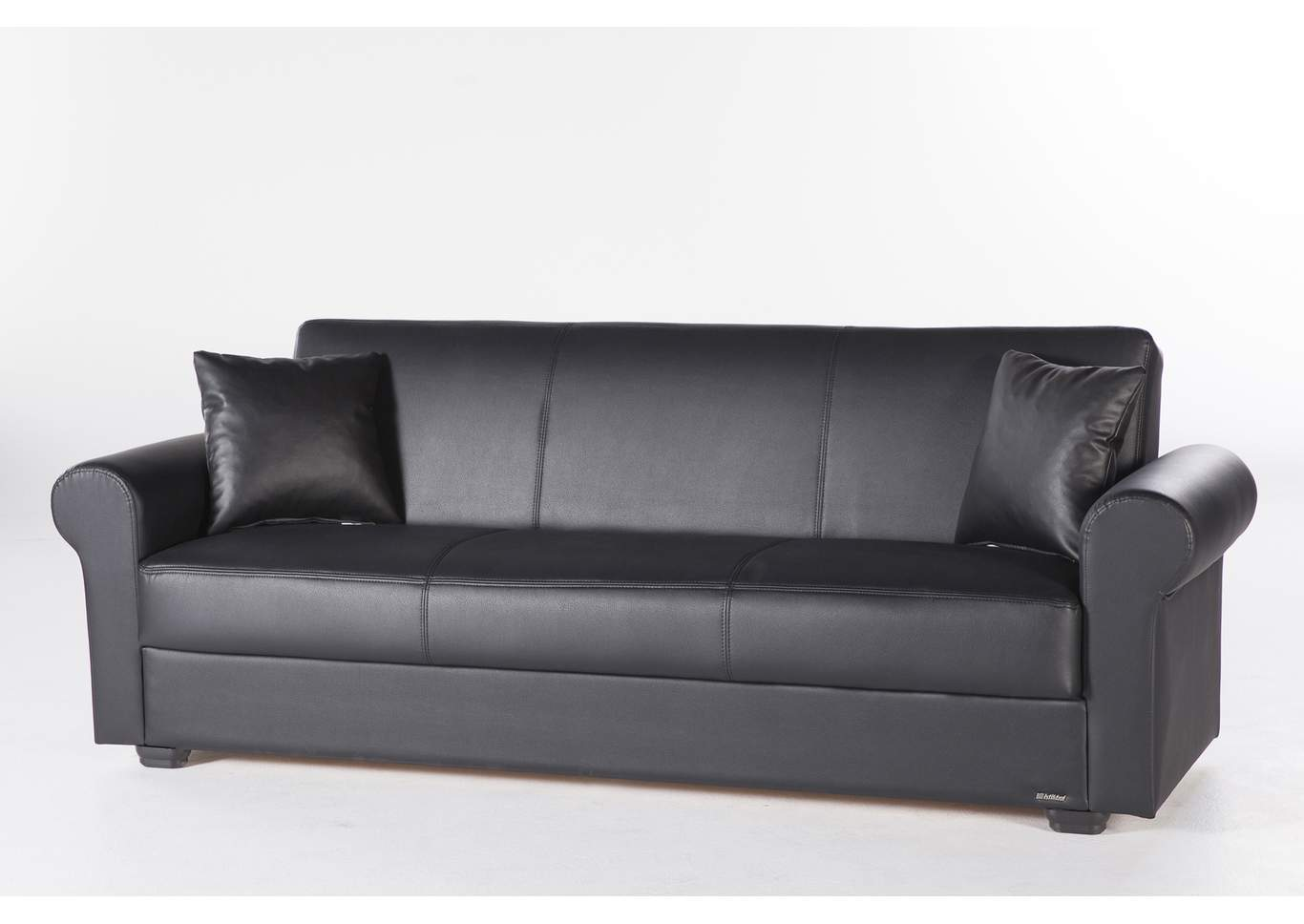 Terrific Direct Deal Furniture Floris Santa Glory Black 3 Piece Sofa Set Unemploymentrelief Wooden Chair Designs For Living Room Unemploymentrelieforg