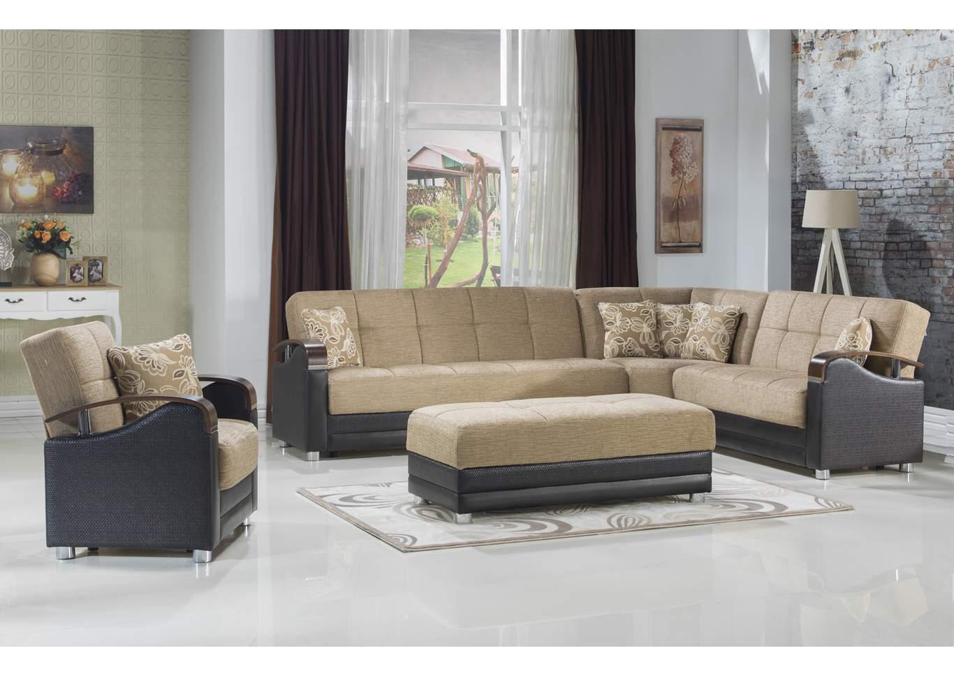 Best Buy Furniture and Mattress Luna Kose Takimi LAF Sofa ...