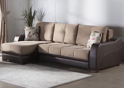 Ultra Lilyum Vizon Reversible Sectional
