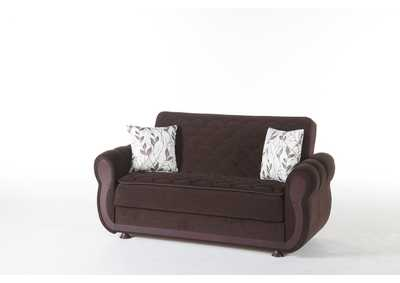 Argos Colins Brown Love Seat