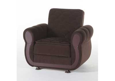 Argos Colins Brown Armchair