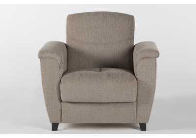 Aspen Forest Brown Armchair