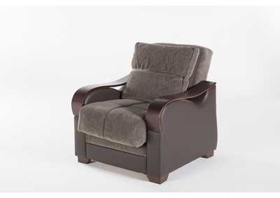 Bennett Armoni Brown Armchair
