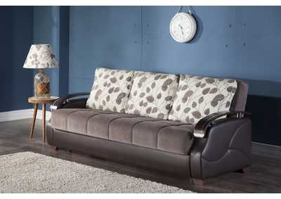 Image for Costa Armoni Brown 3 Seat Sleeper Sofa