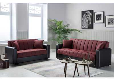 Image for SIDNEY RED LOVESEAT