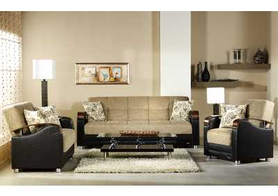 Image for Luna Kose Takimi 3 Piece Sofa Set
