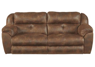 Ferrington Sunset Lay Flat Power Reclining Sofa w/Power Headrest