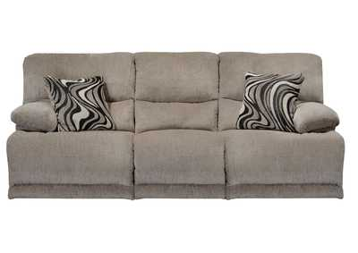 Image for Phantom & Pewter Reclining Sofa