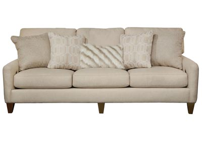 Ackland Linen Sofa w/USB Port