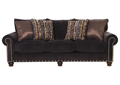 Image for Midnight & Slate Sofa