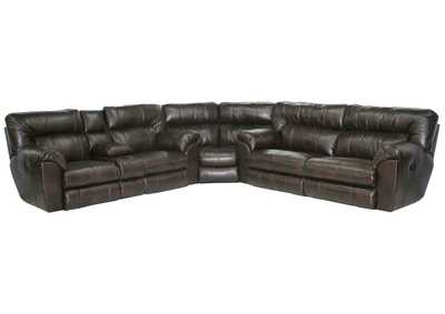 Image for Nolan Godiva Extra Wide Reclining Sectional