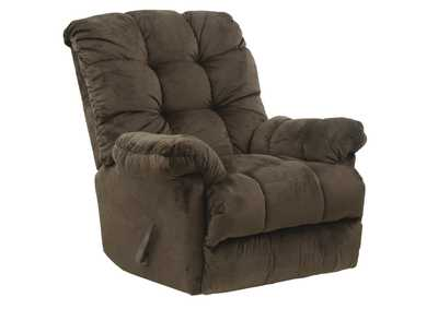 Nettles Umber Rocker Recliner w/Deluxe Heat & Massage