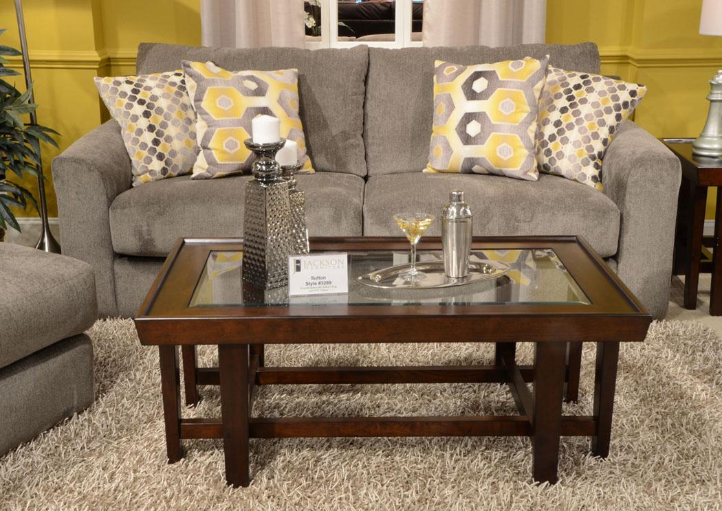 Sutton Cobblestone Sofa,Jackson