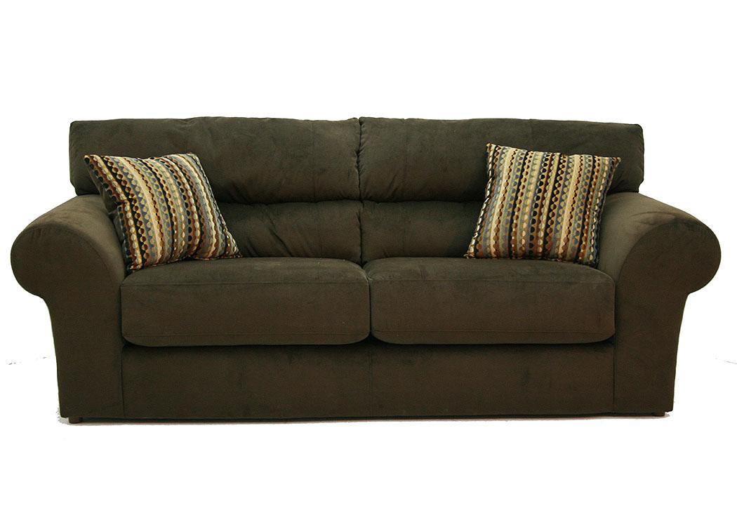 Charmant Sit U0026 Sleep @ Walkeru0027s Furniture Mesa Chocolate Sofa, Loveseat U0026 Chair W/  Ottoman