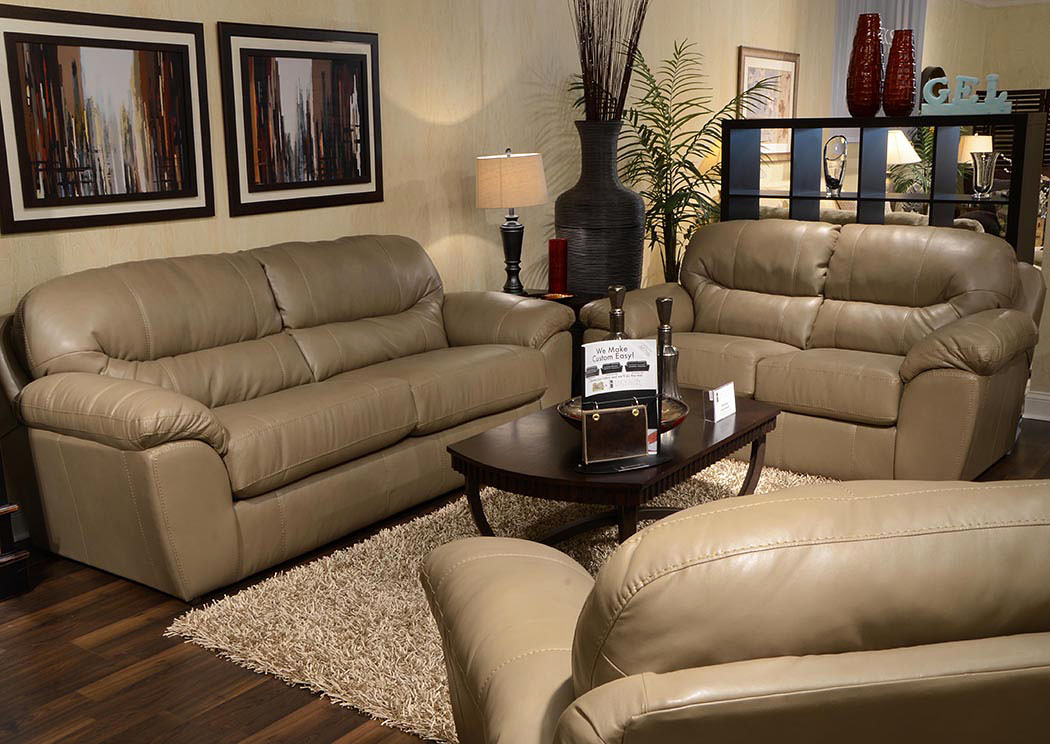 Brantley Putty Sofa & Loveseat,Jackson