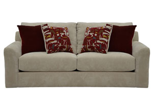 Sutton Dove Sofa, Loveseat & Chair w/ Ottoman
