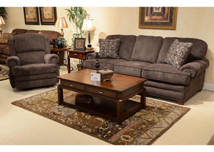 Braddock Metal Sofa, Loveseat & Chair w/ Ottoman