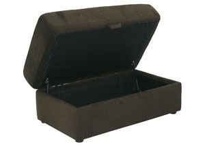 Mesa Chocolate Storage Ottoman