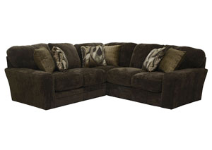 Everest Chocolate/Iron Sofa Sectional