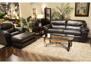 Brantley Steel Sofa, Loveseat & Chair w/ Ottoman