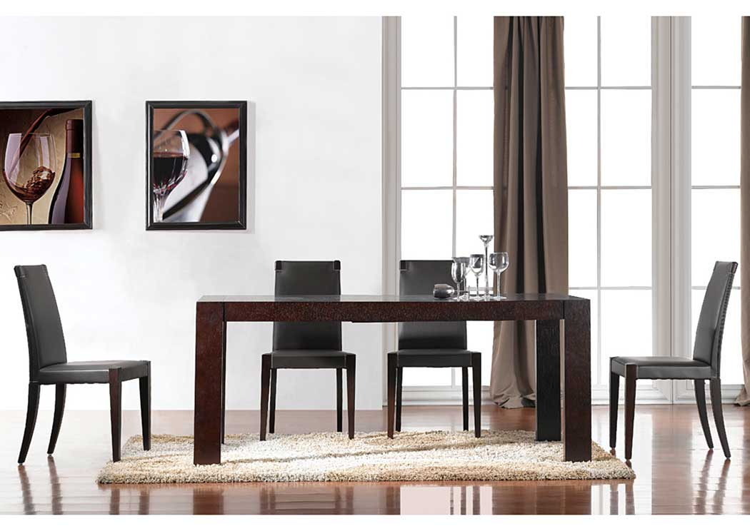 Colibri Dining Table & 4 Chairs,J&M Furniture