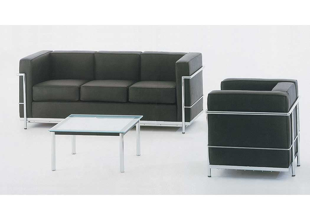 Best Buy Furniture and Mattress Cour Italian Leather Sofa & Chair
