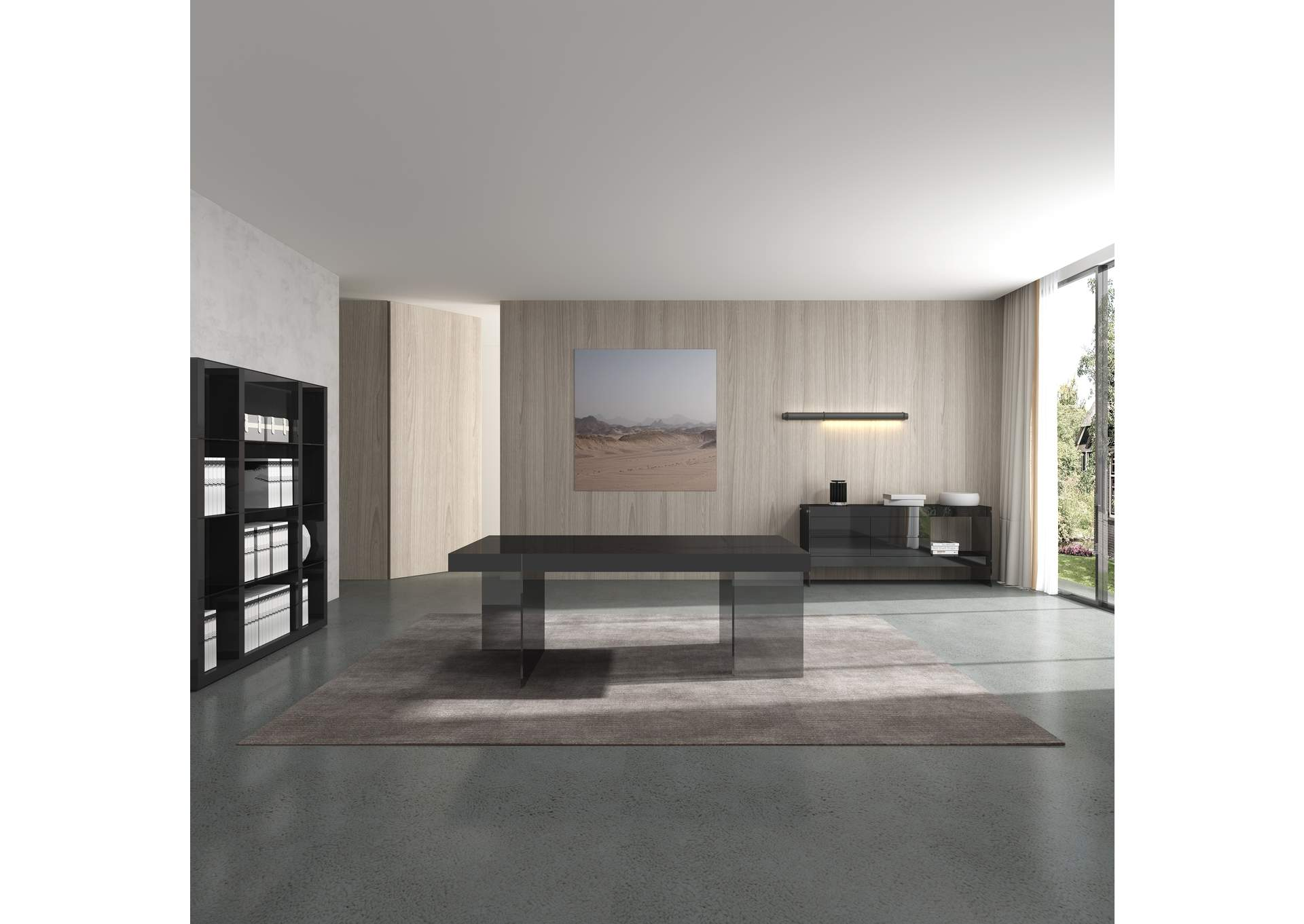 Grey Cloud Buffet,J&M Furniture