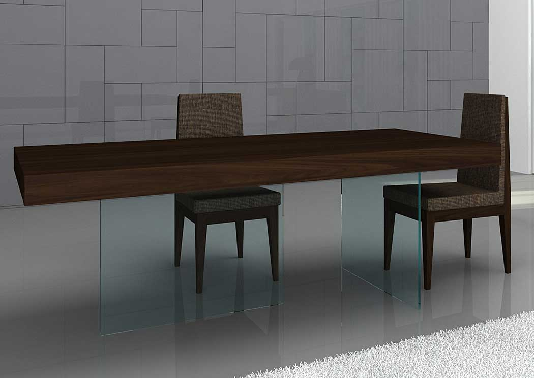 Float Modern Dining Table Buffet 4 ChairsJM Furniture