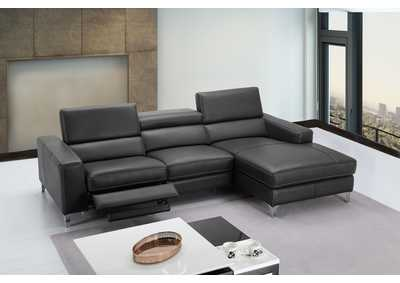 Image for Slate Grey Ariana Sectional - Right Hand Facing Chaise