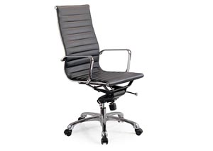 Black Comfy High Back Office Chair
