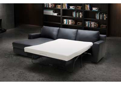 Image for Black Elizabeth Sectional - Left Hand Facing Chaise