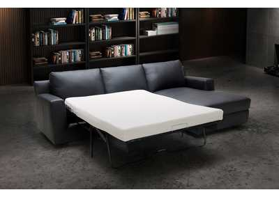 Image for Black Elizabeth Sectional - Right Hand Facing Chaise