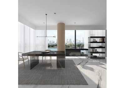 Image for Grey Cloud Modern Dining Table