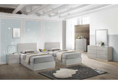 Image for Naples Grey F Bed