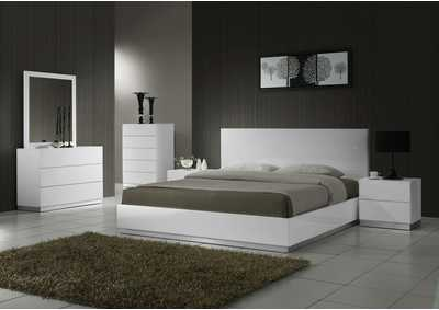 Image for White Naples Twin Bed
