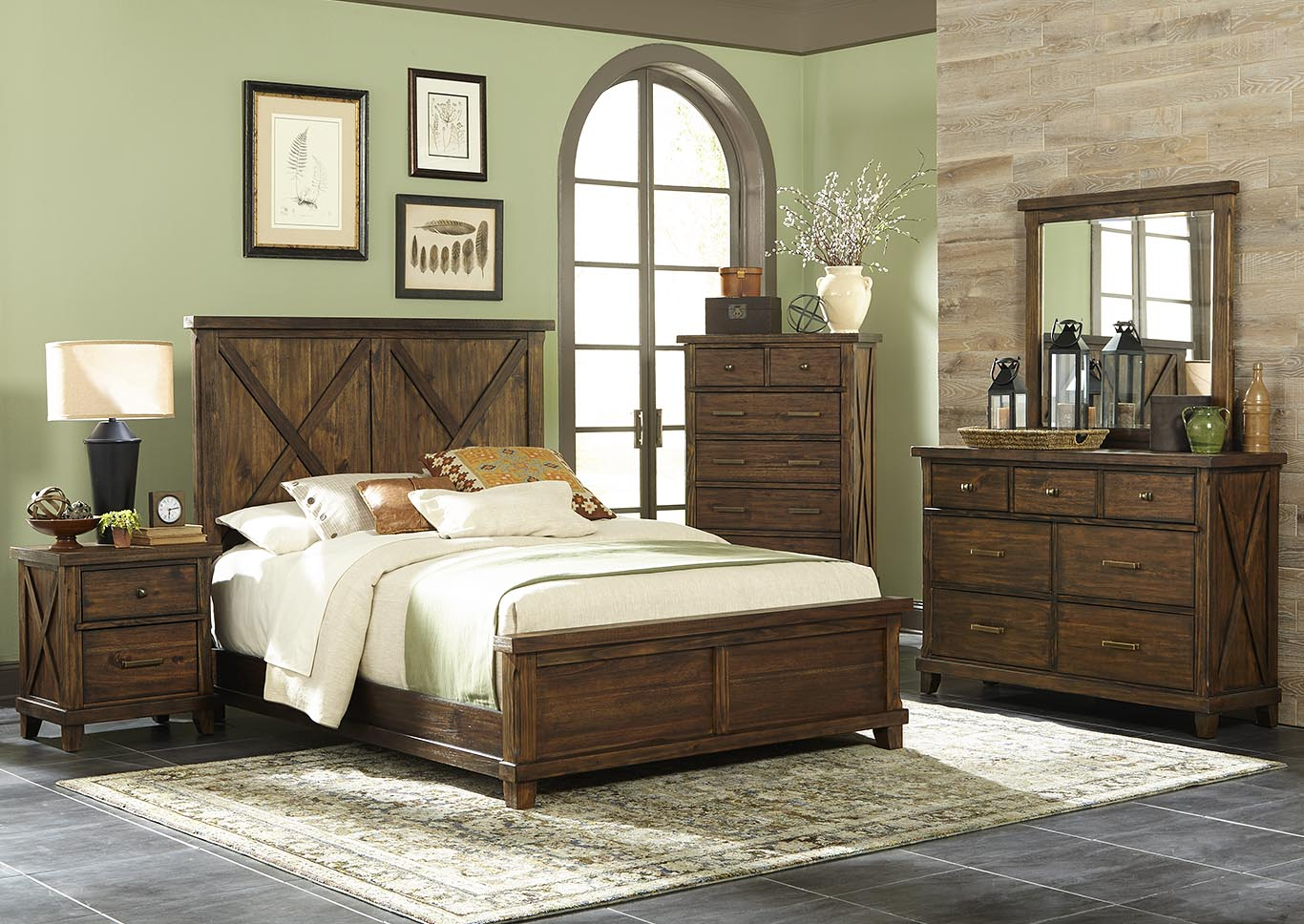Hacienda Toffee Queen Headboard,Kith