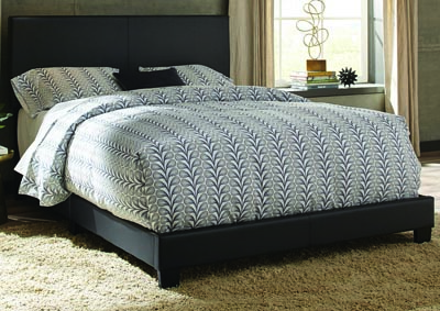 Ramon Queen Black PU Bed In One Box